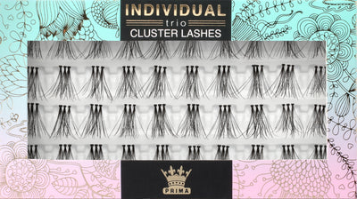 TRIO Natural Cluster lash extensions Long 12mm