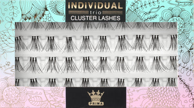 TRIO Natural Cluster lash extensions Medium 12mm