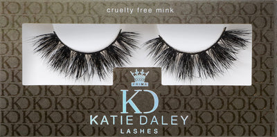 KATIE DALEY FOR PRIMALASH LUXURY MINK LASHES #THE CLIENT