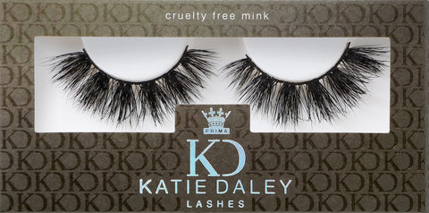 Katie Daley for PrimaLash Luxury Mink Lashes #The Katie