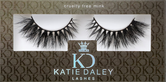 Katie Daley for PrimaLash Luxury Mink Lashes #The Model