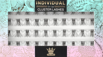 TRIO Natural Cluster lash extensions Short 10mm