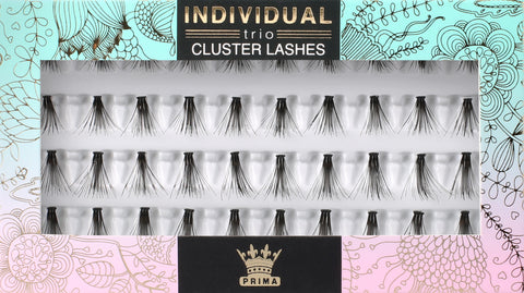 TRIO Cluster Lash Extensions Mixed Length