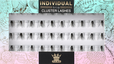TRIO Cluster Lash Extensions Extra Short 8mm