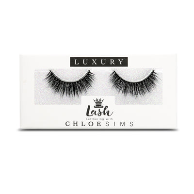 Chloe Sims 3D Luxury Vegan Lashes #London