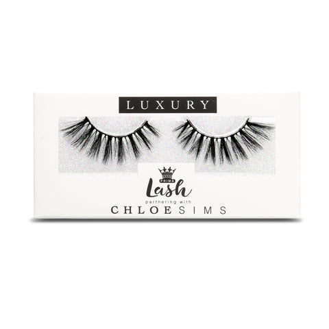 Chloe Sims 3D Luxury Vegan Lashes #Sass