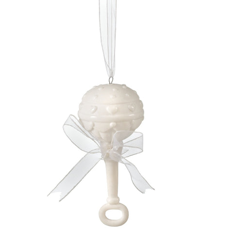 Baby Rattle Ornament