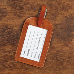 Luggage Tag with Saying