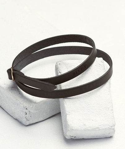 The Giving Keys - Leather Wrap Bracelet