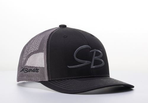 SaltBandits™  Trucker Hat Black/Charcoal