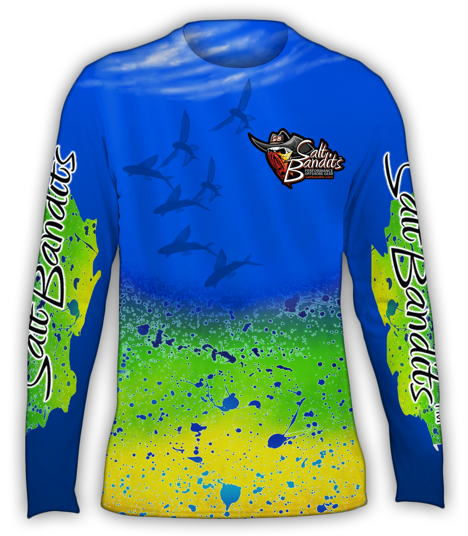 SaltBandits™ Mahi Performance Long Sleeve T-Shirt