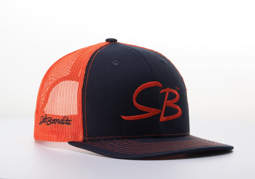 SaltBandits™  Trucker Hat Charcoal/Orange