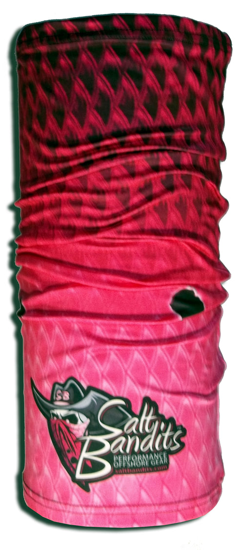 SaltBandits™ Solar Defense Shield Pink Redfish Scales