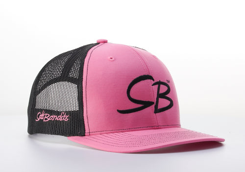 SaltBandits™  Trucker Hat Hot Pink/Black
