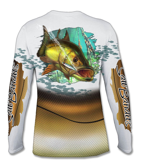 SaltBandits™ Snook Performance Long Sleeve T-shirt