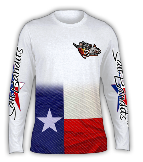 SaltBandits™ Texas Slam Performance Long Sleeve T-shirt