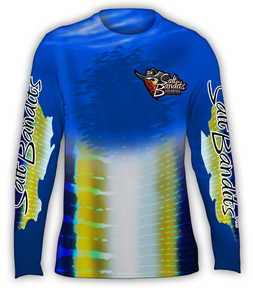 SaltBandits™ Tuna-Marlin Performance Long Sleeve T-Shirt