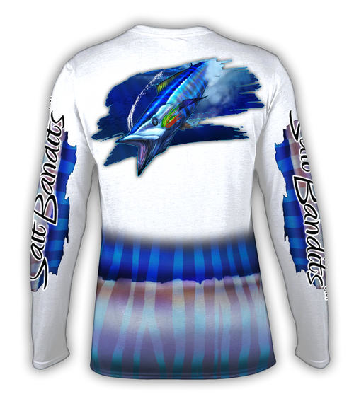 SaltBandits Wahoo Performance Long Sleeve T-shirt