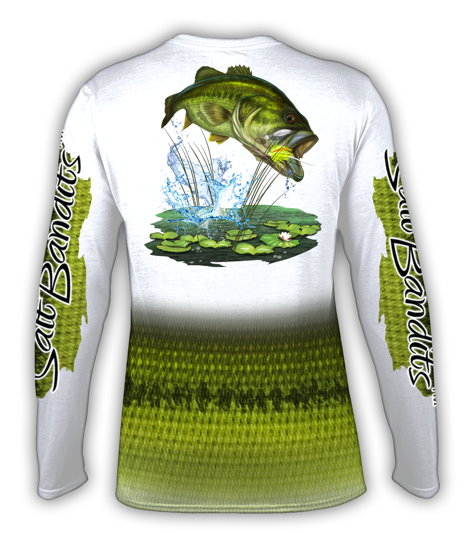 SaltBandits Bass Performance Long Sleeve T-shirt