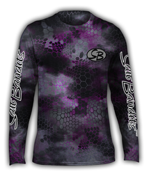 SaltBandits™ Chameleon Camo Pink Performance Long Sleeve T-shirt