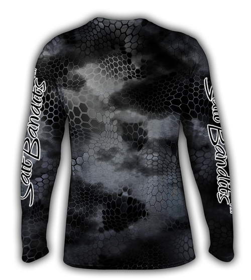 SaltBandits™ Chameleon Camo Performance Long Sleeve T-shirt