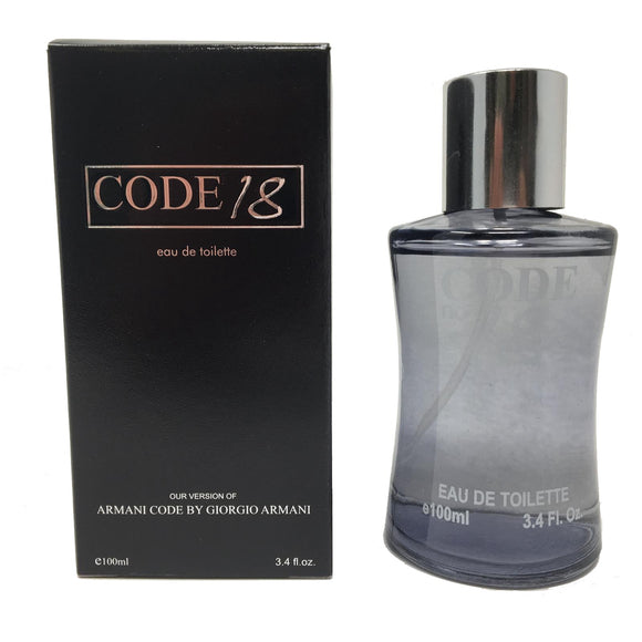 Code 18 for Men - Inspired by  Arani Code for Men