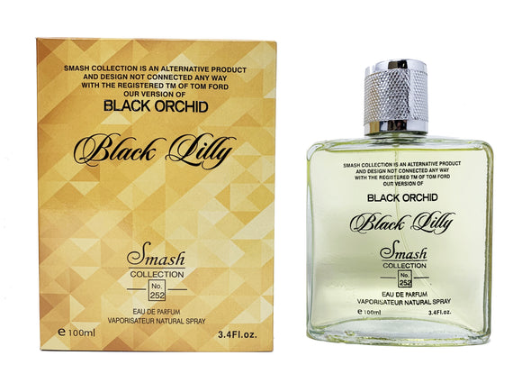 Black Lilly for Women - Inspired by Tom Ford Black Orchid