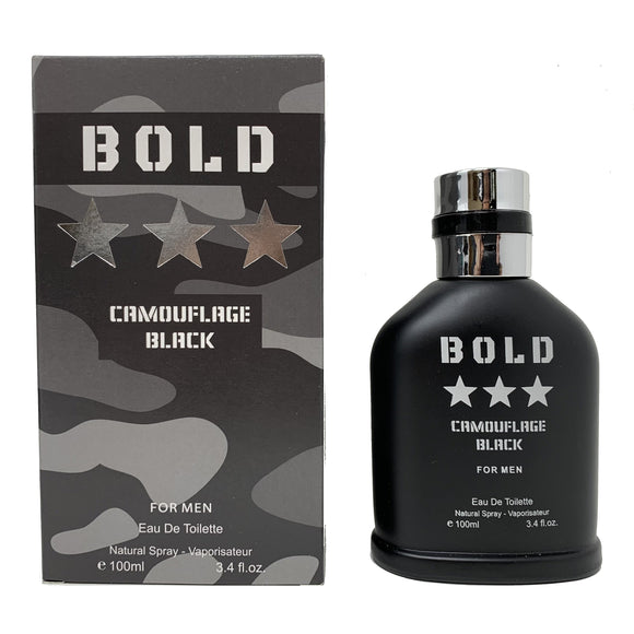 Bold Camouflage Black for Men - Inspired by Hugo Boss Black for Men
