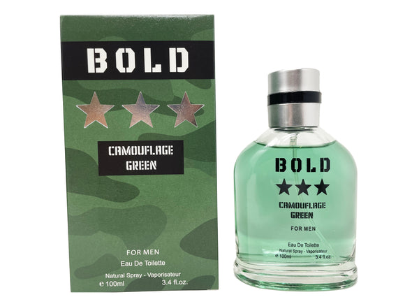 Bold Camouflage Green for Men