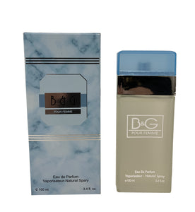 B&G Light Blue for Women - Inspired by D&G Light Blue Pour Femme