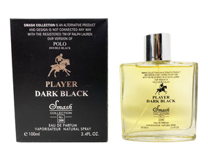 Player Dark Black - Inspired by Polo Double Black for Men - Smash Collection