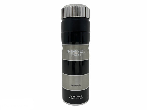 Impact by Riffs Perfumed Body Spray for Men - 8.4oz/250ml
