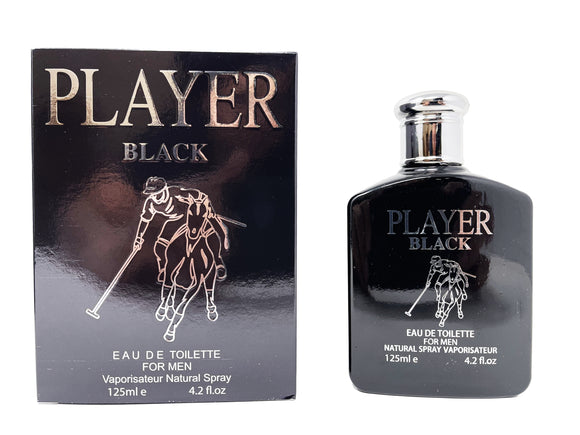 Player Black For Men - 4.2oz (Large Box)
