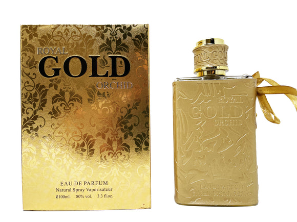 Royal Gold Orchid For Men