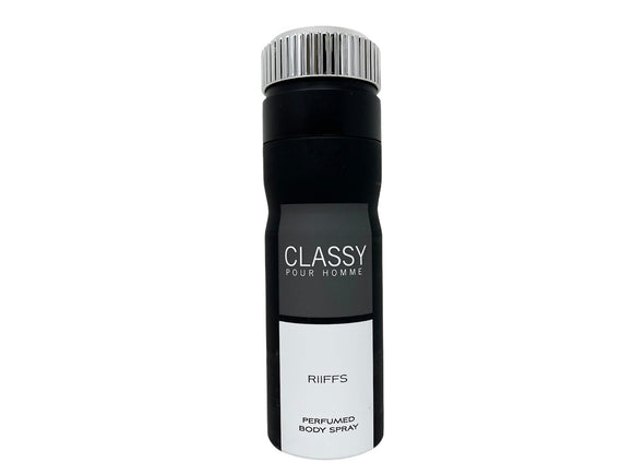 Classy by Riffs Perfumed Body Spray for Men - 6.67oz/200ml