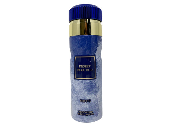 Desert Blue Oud by Riffs Perfumed Body Spray for Men - 6.67oz/200ml