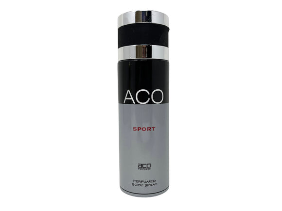 ACO Sport Perfumed Body Spray for Men - 6.67oz/200ml