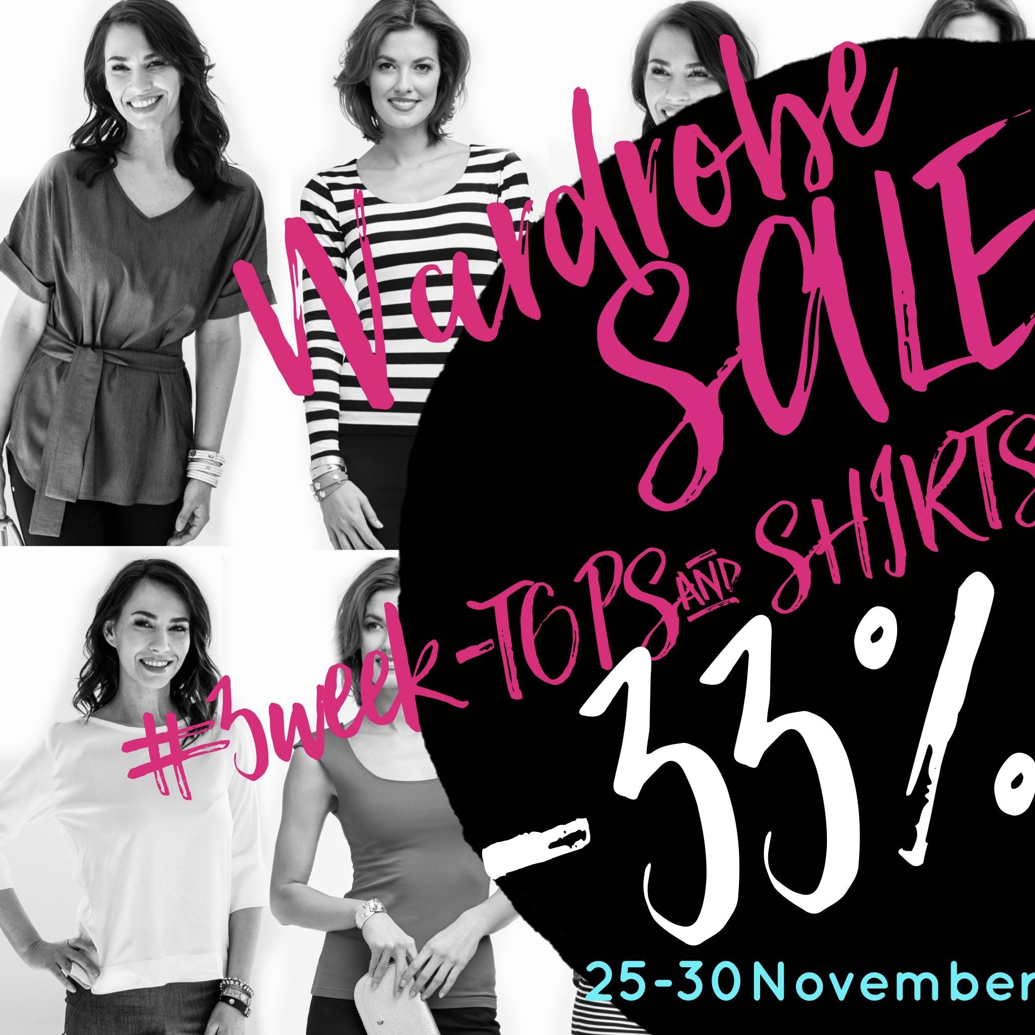 Wardrobe SALE #3 week - TOPS & SHIRTS👚
