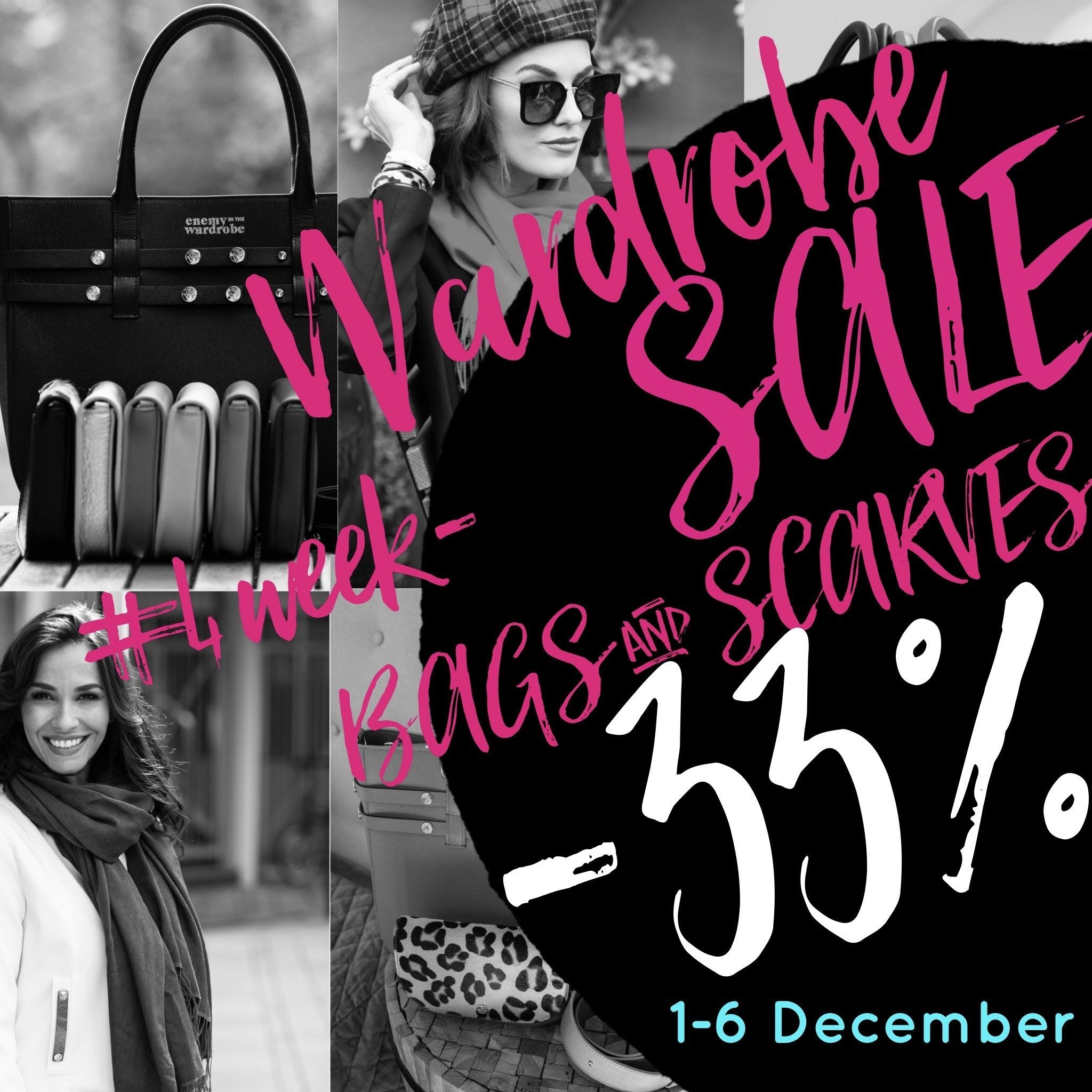Wardrobe SALE #4 week - BAGS & SCARVES👜🧣