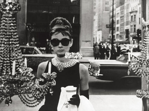 Audrey Hepburn in 'Breakfast at Tiffany's'