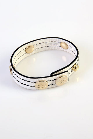 "The Moods Bracelet ""EW white"" - An infinite elegance in BW."
