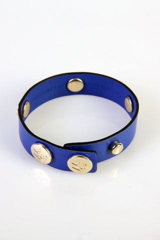 "The Moods Bracelet ""Mysterious mind"" - If you look for a perfect royal blue, here it is."