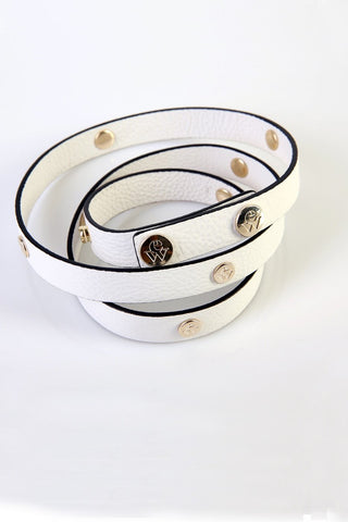 "The Moods Belt ""Chilled heart"" - Pure cool white."