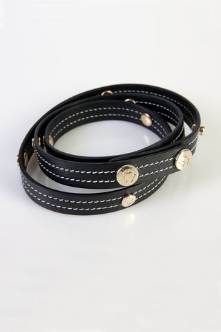 "The Moods Belt ""EW black"" - An infinite elegance in BW."