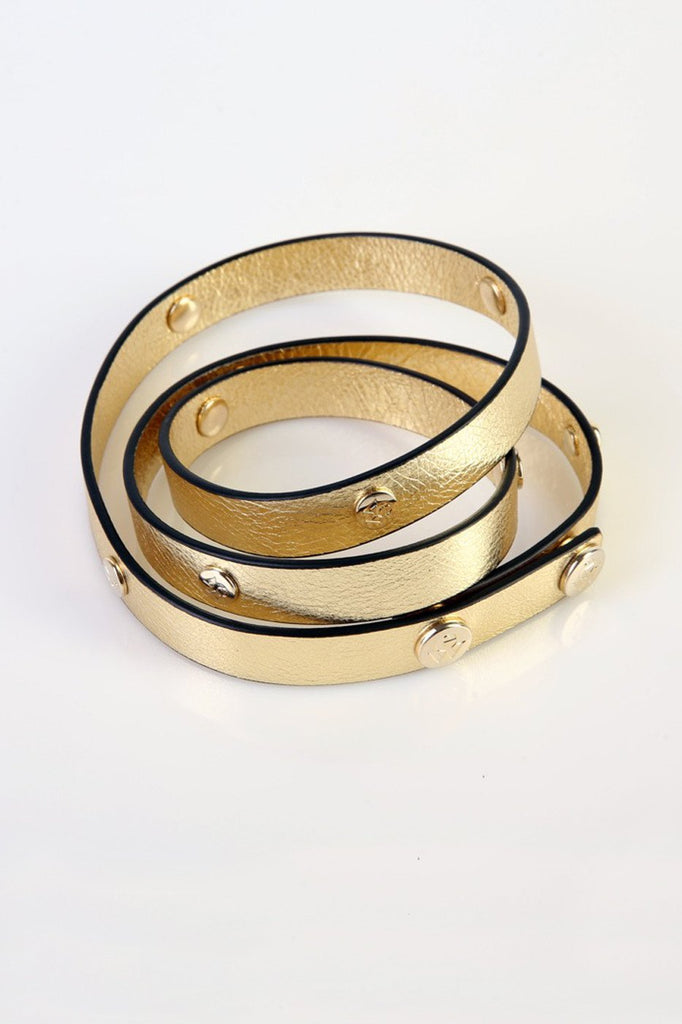 "The Moods Belt ""Confidently bright"" - Fine gold color to complete you for the day."