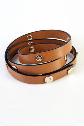 "The Moods Belt ""Minimal chic"" - Camel color is the eternal chic. Nothing more is needed."