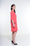 """The Nice Dress"" coral red - Enemy in the Wardrobe"