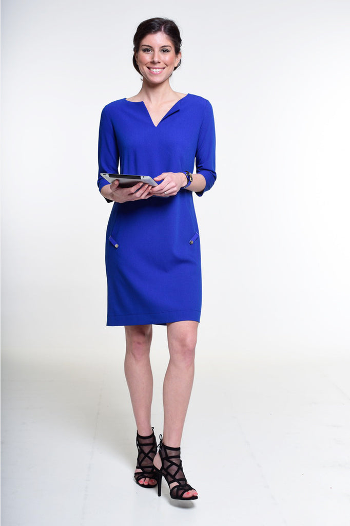 """The Nice Dress"" royal blue - Enemy in the Wardrobe"