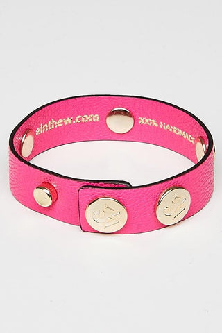 "The Moods Bracelet ""Provocative RV"" - Dark pink to be just yourself."