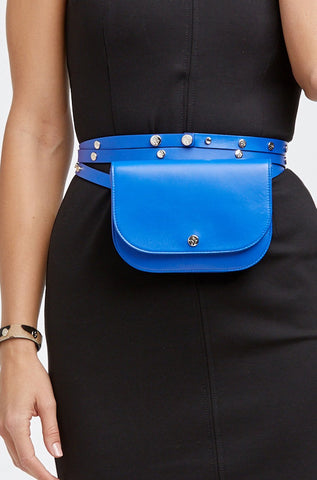 "The Moods Bag  ""Mysterious mind"""" - If you look for a perfect royal blue, here it is."